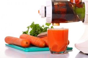 Juice extractor and carrot