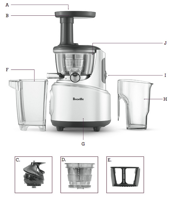 Best Masticating Juicer For Celery : Breville BJS600XL Juice Machine Review The Best Juice Machine