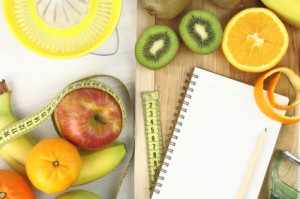 Fruits diet and juicing
