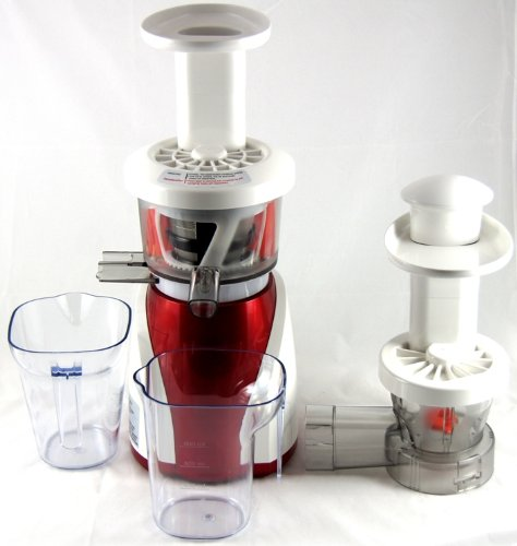 Low Speed Juicer Reviews : Nutriteam HD 7700 Juicer Review Upright Masticating Juicer